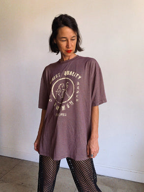 Finest Quality 1990s Plum T-Shirt - L