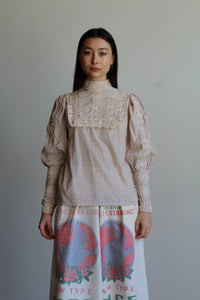 1970s Laura Ashley Made in Wales Victorian Blouse