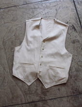 Load image into Gallery viewer, 90s Reversible Linen Vest