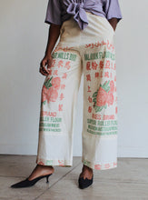 Load image into Gallery viewer, Malayan Rose Flour Sack Pants