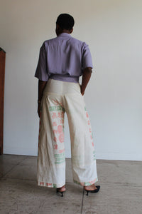 Malayan Rose Flour Sack Pants