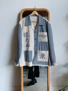 Botan Rice Silk Work Shirt