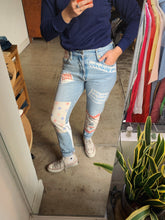 Load image into Gallery viewer, Queen's Pride Patchwork Levi's 501