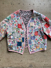 Load image into Gallery viewer, Reversible Quilt Jacket