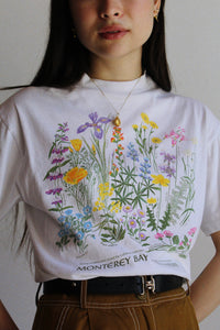 Coastal California Wildflowers Tee
