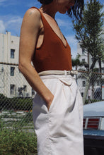 Load image into Gallery viewer, 1970s White Corduroy Skirt