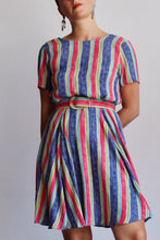 Load image into Gallery viewer, Laura Ashley Candy Striped Dress
