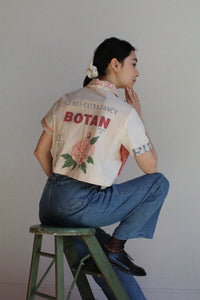 Botan Check Crop Top