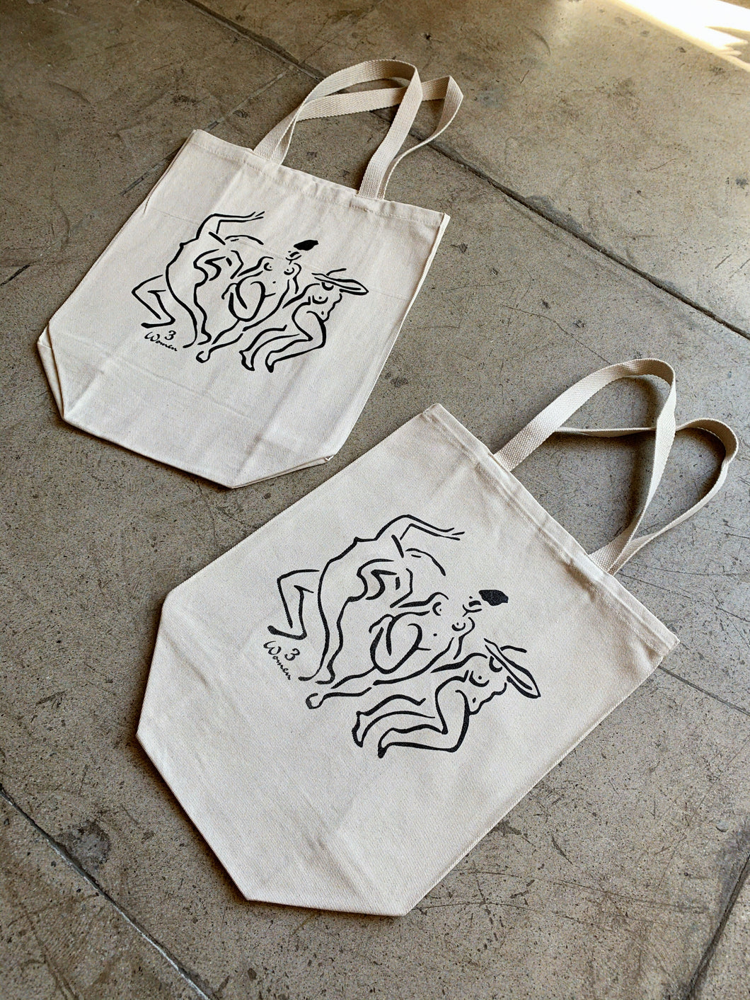 3 Step Tote Bag