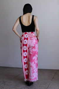 Floral Terry Trousers ~ US 2-4
