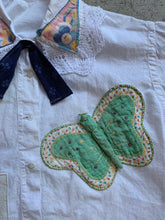 Load image into Gallery viewer, Antique Butterfly Patchwork Blouse