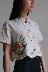 Lotus Flower Crop Top