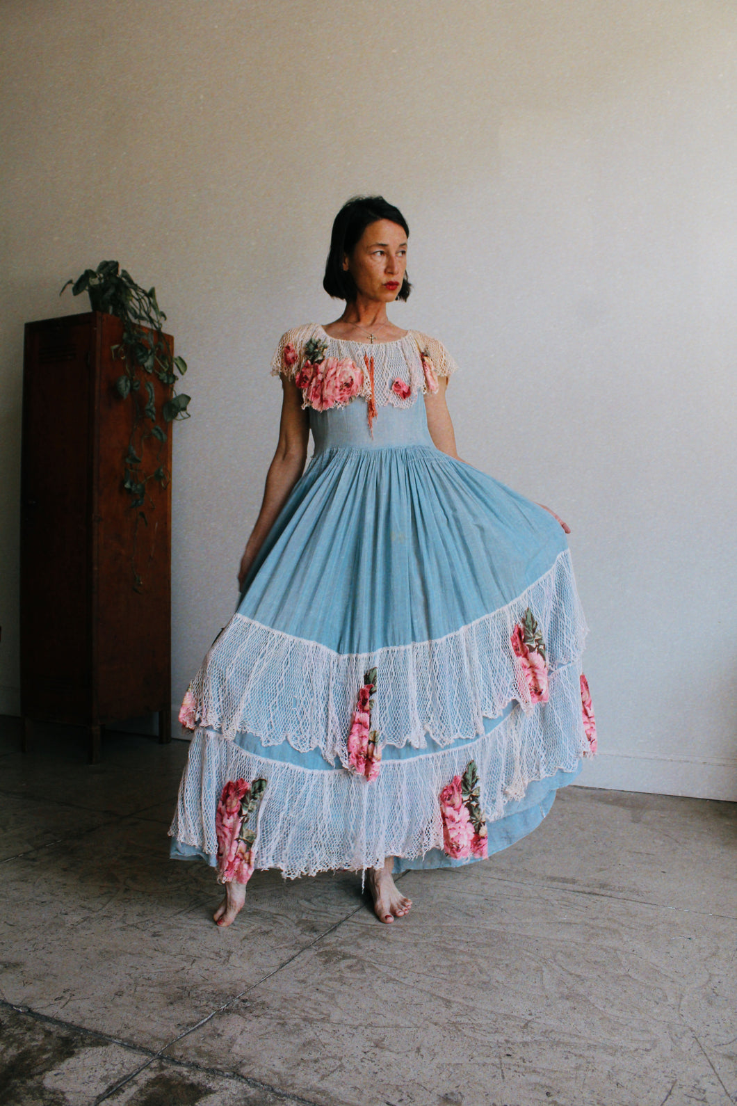 Antique Rose Garden Dress