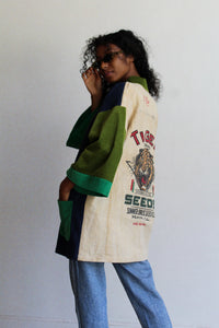 Tiger Seeds Color Block Jacket
