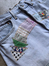 Load image into Gallery viewer, Sunny Patchwork Levi's 501