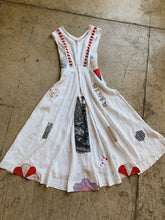 Load image into Gallery viewer, Happy Day Antique Linen Patchwork Dress