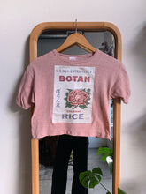 Load image into Gallery viewer, Botan Rice 1970s Crop Top