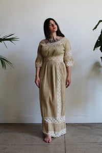 1970s Mexican Wedding Dress