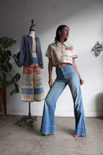 Load image into Gallery viewer, Rare 1970s Light Wash Bell Bottom Jeans
