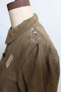 World War II Japanese Military Youth Patched Jacket