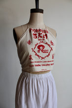 Load image into Gallery viewer, Vintage Rice Sack Halter Blouse by 3 Women