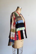 Load image into Gallery viewer, Vintage Crazy Quilt Patchwork Jacket