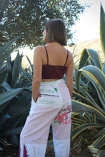 Load image into Gallery viewer, Sakura Desert Flower Rice Sack Pants