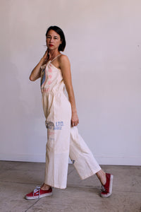 Vintage Calrose Rice Bag Jumpsuit by 3 Women