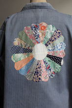 Load image into Gallery viewer, Flower Patchwork Chore Jacket