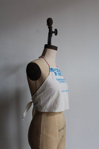 Vintage 1930s-style Flour Sack Halter Top ~ The Perfect Flour // 3 Women Designs