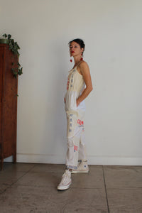 Queen Bee Flour Sack Jumpsuit - Size M