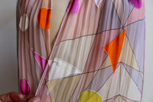 Load image into Gallery viewer, Emilio Pucci Silk Pastel Scarf with Geometric Shapes
