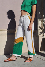 Load image into Gallery viewer, The Antique Color-block Leisure Pants
