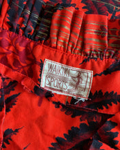 Load image into Gallery viewer, 1940s Hawaiian Red Cotton Ruffle Dress by Waikiki Sports