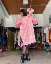 Load image into Gallery viewer, 1940s Pink Satin Brocade Chinese Jacket