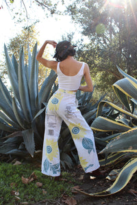 Sunflower Linen + Double A Rice Sack Pants