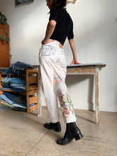 Load image into Gallery viewer, Extra Fancy Patchwork Levi's 501 Jeans