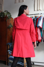 Load image into Gallery viewer, 1960s Red Mini Trench Coat