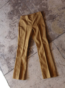 1970s H Bar C California Ranchwear Brown Mustard Western Slacks