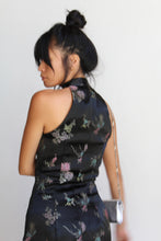 Load image into Gallery viewer, 90s Chinese Brocade Mini Dress
