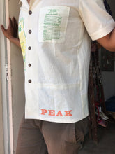 Load image into Gallery viewer, Peak Mountain Flour + Rice Sack Button Up Top by 3 Women