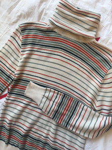 1970s Striped Shelley Duvall Sweater
