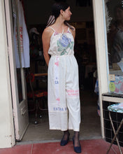 Load image into Gallery viewer, Blue Rose Vintage Rice Sack Jumpsuit by 3 Women