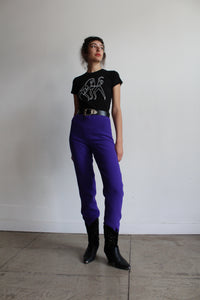 1980s Purple Gianni Versace Pants