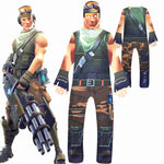 Fortnite Children's Onesies cosplay Performance clothing 5 Yardage price for 3 pcs