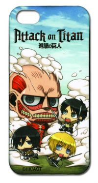iPhone 5 Case: Attack on Titan - SD Fight (Accessories)