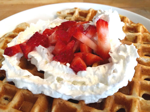 College Dining Hall Hacks: Fancy Waffles