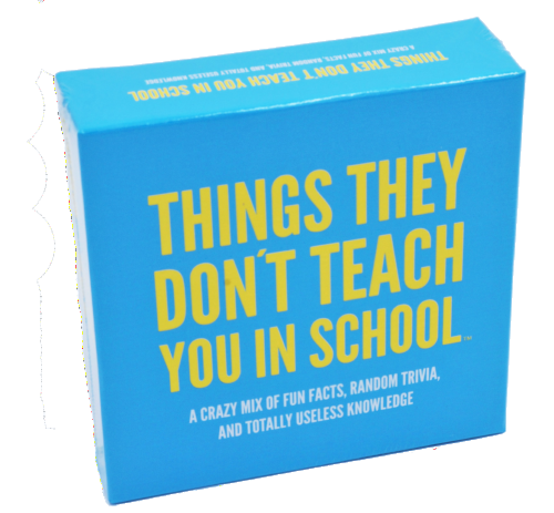 Trivia Game: Things They Don't Teach You in School