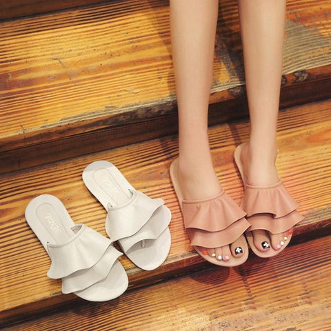 2018 Fashion  Sandals Slipper Beach Shoes Women