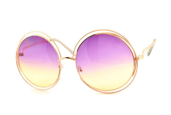 Round Rainbow Sunglasses
